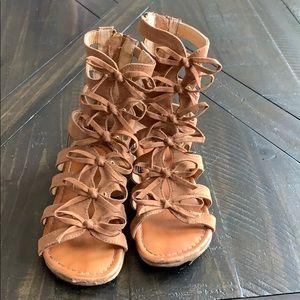 Other - Girls size 11 gladiator sandals